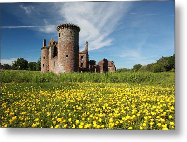 Caerlaverock Castle Metal Print