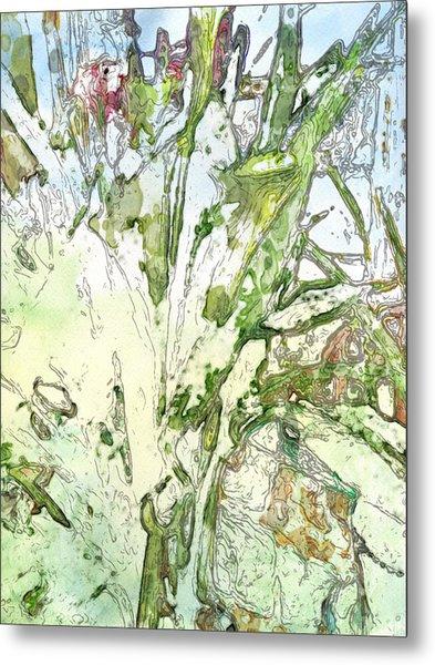 Callas Metal Print by Jennifer Woodworth