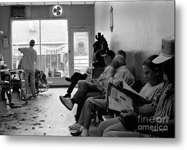 Canton Barber Shop 1997 Metal Print