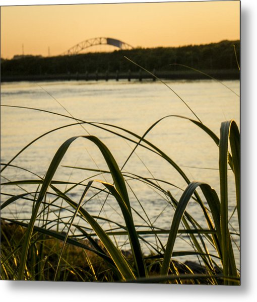 Cape Cod Canal  Metal Print