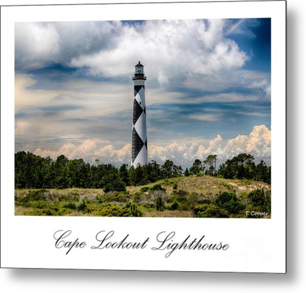 Cape Lookout Lighthouse Metal Print