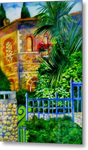 'casa At Radda' Metal Print