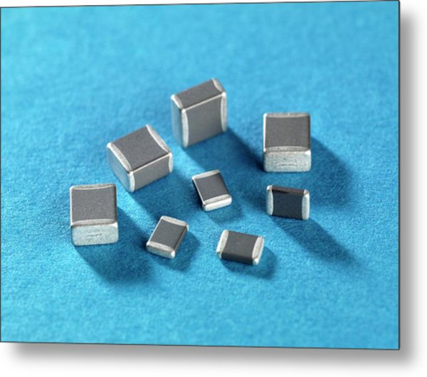 Ceramic Capacitor Metal Print