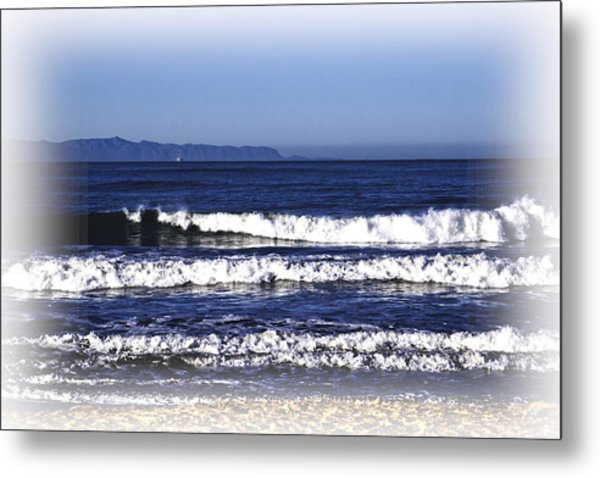 Metal Print featuring the photograph Channel Islands View by William Havle