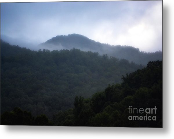 Cherokee Mountains Metal Print