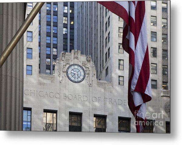 Chicago Board Of Trade Metal Print