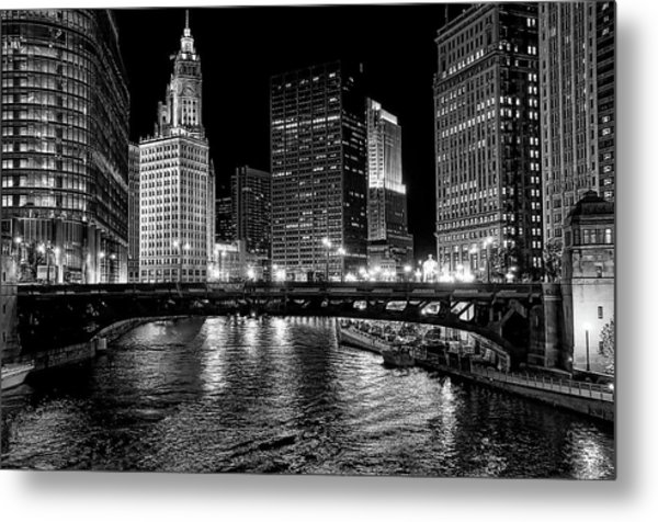 Chicago River Metal Print by Jeff Lewis