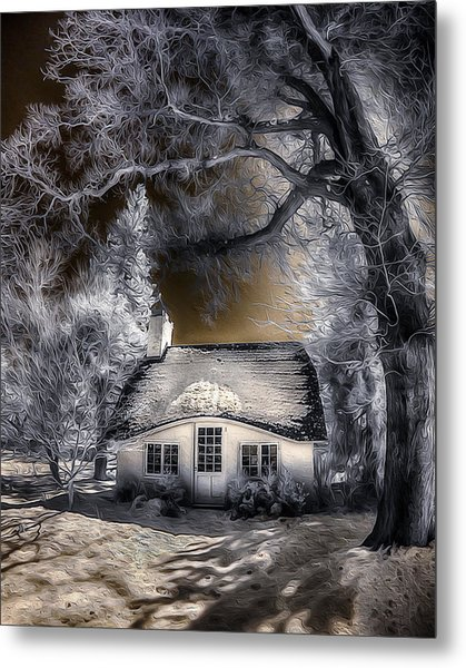 Children's Cottage Metal Print