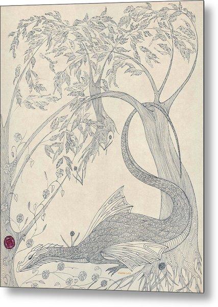 China The Dragon Metal Print