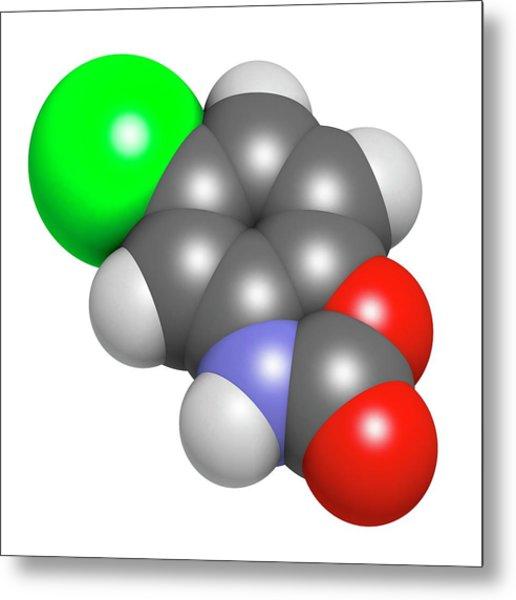 Chlorzoxazone Muscle Relaxant Drug Metal Print by Molekuul