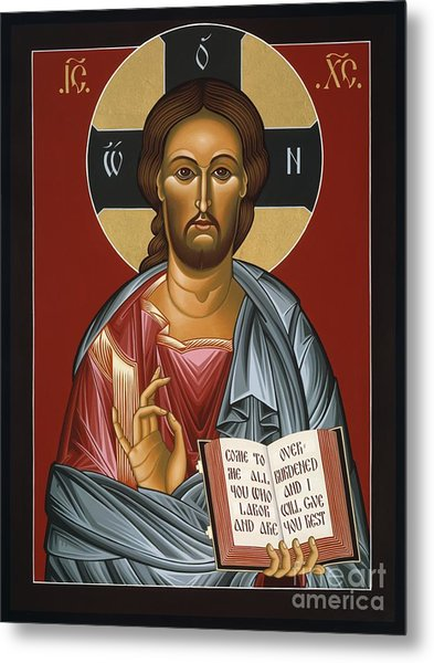 Christ All Merciful 022 Metal Print