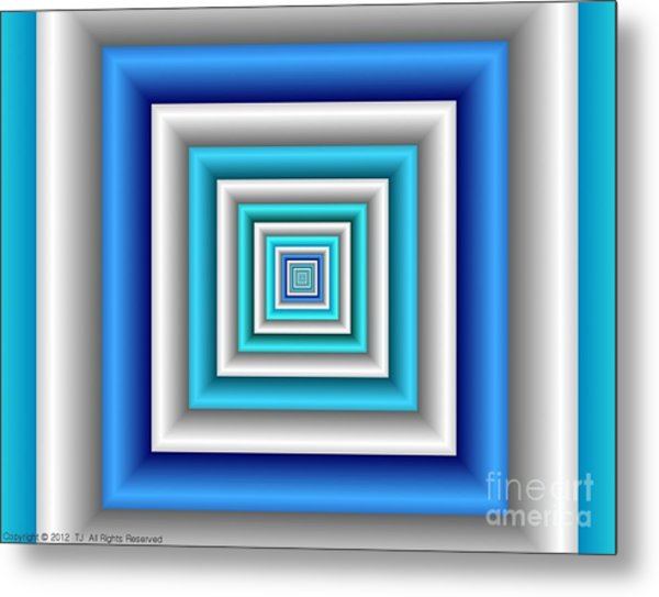 Chromodynamic 3 Metal Print