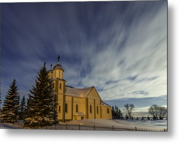 Church Metal Print