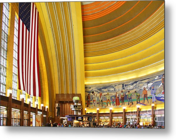 Cincinnati Museum Center At Union Terminal 0018 Metal Print