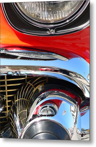 Metal Print featuring the photograph Classic Car As Art by Jeff Lowe