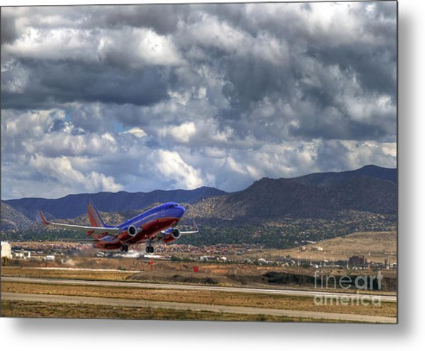 Cleared For Departure Metal Print