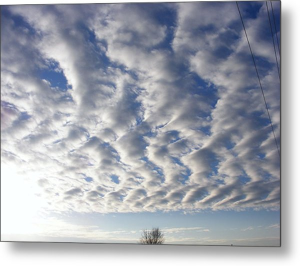 Cloud Deck Metal Print