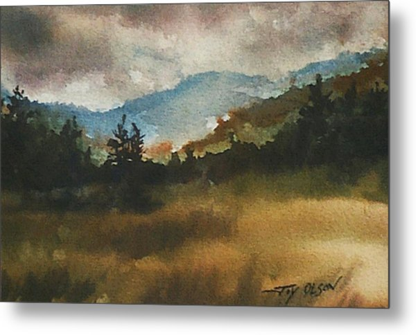 Clouds And Sunlight Metal Print