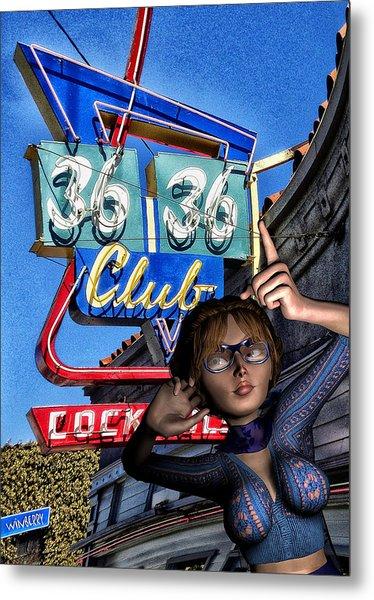 Club 36 Metal Print