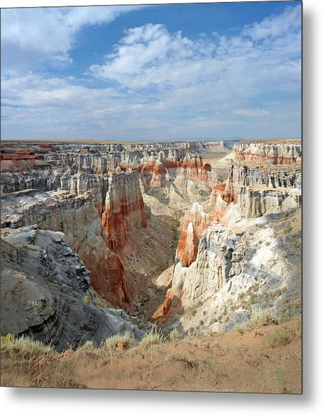Coal Mine Mesa 14 Metal Print