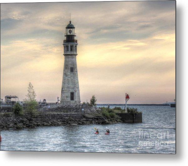 Coastguard Lighthouse Metal Print