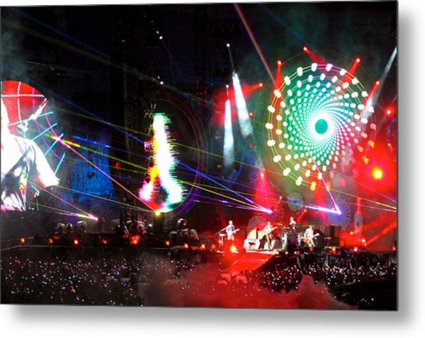 Coldplay - Sydney 2012 Metal Print