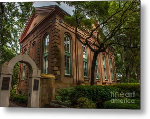 College Of Charleston Campus Metal Print