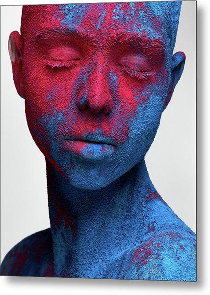 Colored Ecstasy Metal Print