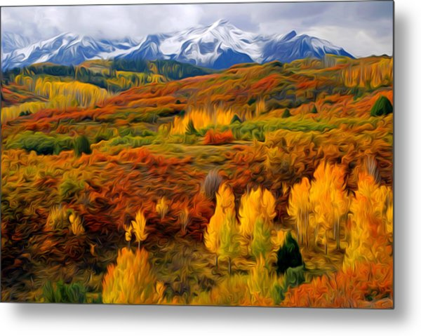 Colorful Colorado At It's Best Metal Print