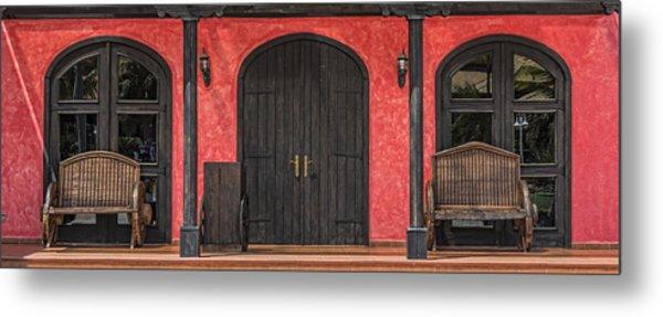 Colorful Mexican Doorway Metal Print