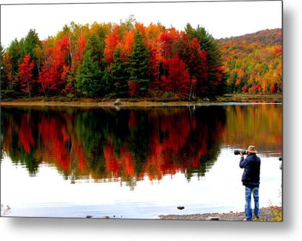 Colorful Reflection Metal Print by Arie Arik Chen