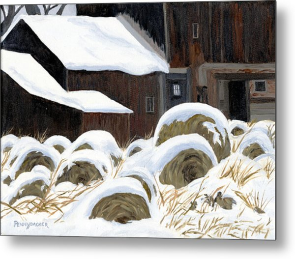 'come See The North Wind's Masonry' Metal Print