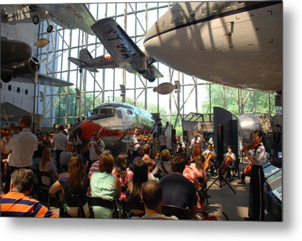 Concert Under The Planes Metal Print