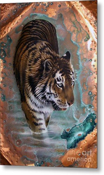 Copper Tiger I  Metal Print