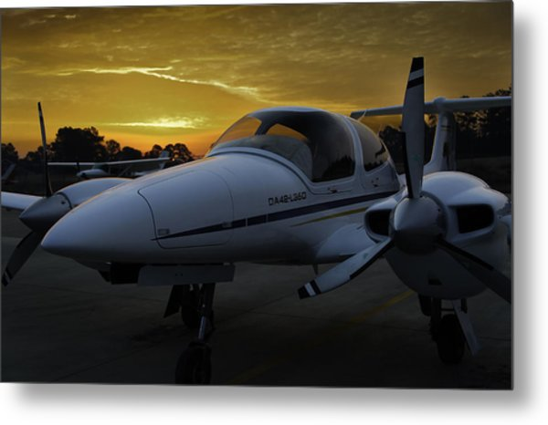 Da42 In The Morning Metal Print
