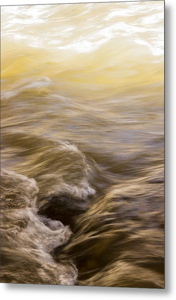 Dance Of Water And Light Metal Print