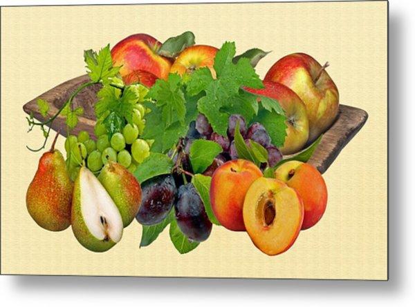 Day Fruits Metal Print
