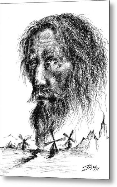 Don Quixote Metal Print by Boyan Donev