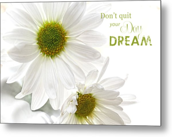 Dreams With Message Metal Print