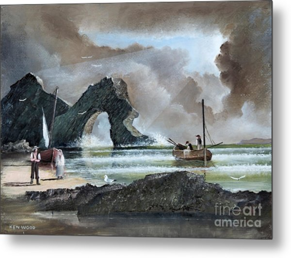 Durdle Door - Dorset Metal Print