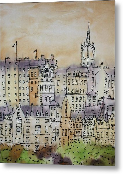 Edinburgh Scotland Metal Print