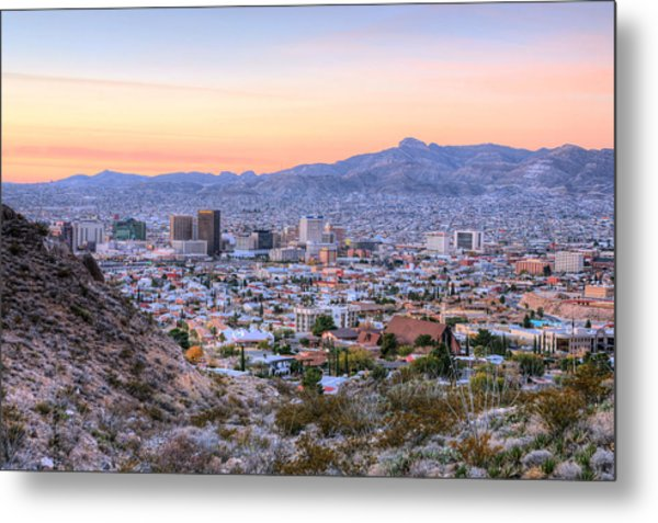El Paso Metal Print by JC Findley