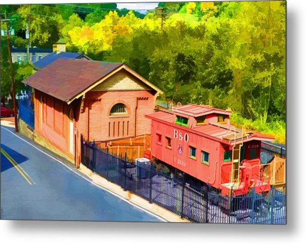 Ellicott City Station Metal Print