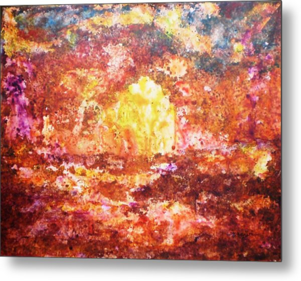 Enchanted Metal Print