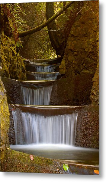 Endless Waterfall Metal Print