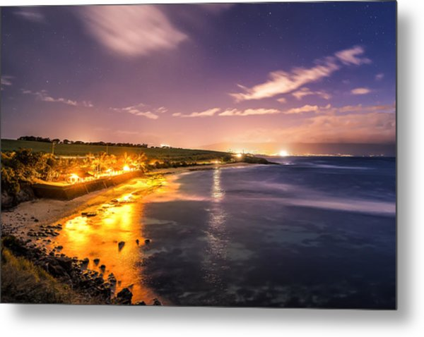 Evening At Hookipa Metal Print by Hawaii  Fine Art Photography