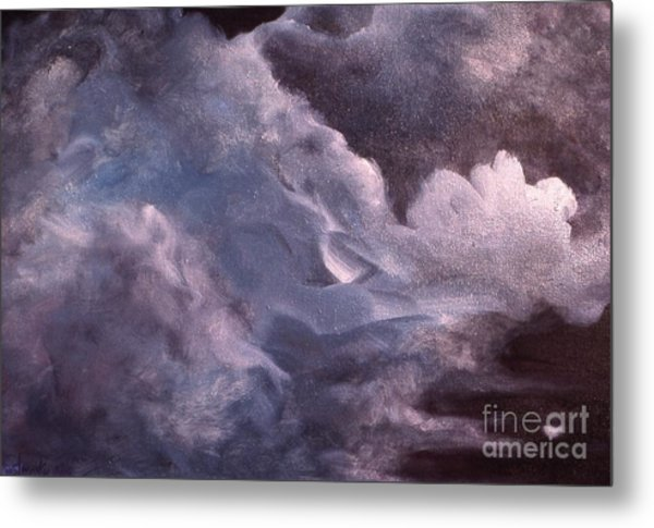Evening Clouds Metal Print