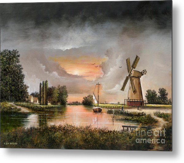 Fairhaven Mill Metal Print