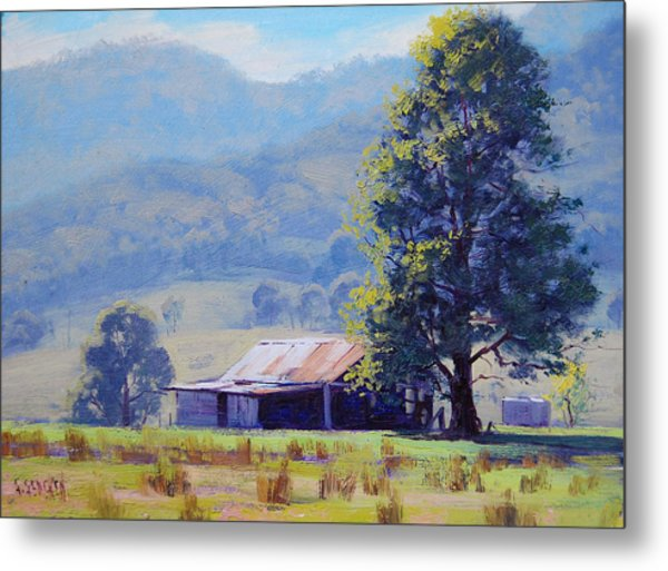Farm Shed Metal Print by Graham Gercken