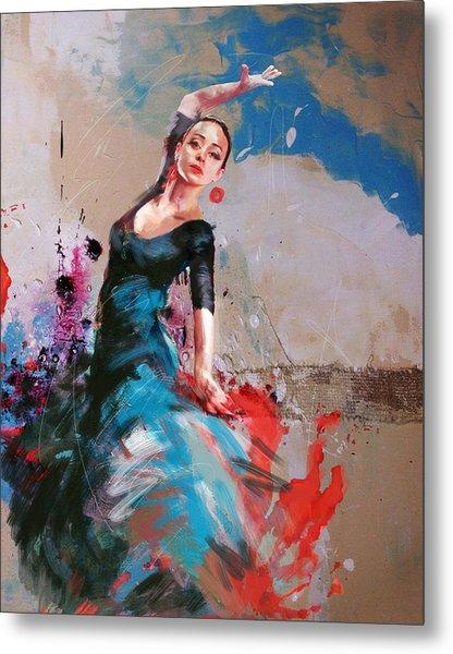 Flamenco 41 Metal Print